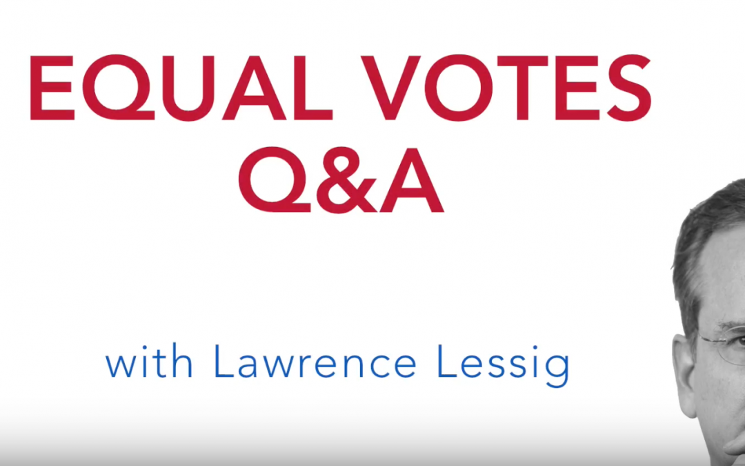 Equal Votes Q&A: There's no way you'd win this legal challenge, right?