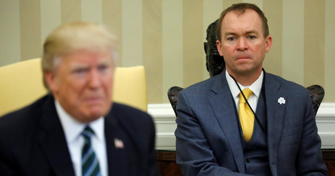 Business Insider: 'This puts a target on his back': Ethics experts say the FBI should investigate Trump's budget director for pay for play