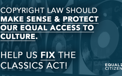 Press Release: National Coalition of Tech and Campaign Finance Orgs Urge Senate to Stop CLASSICS Act