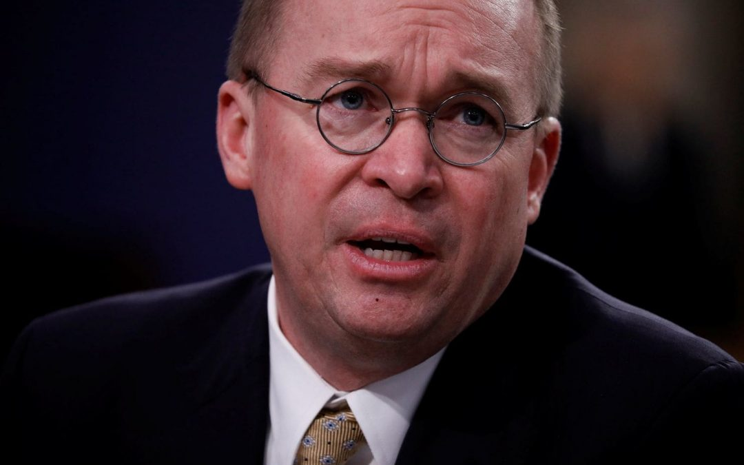 Newsweek: Mick Mulvaney Warns Bankers: I Only Spoke to Lobbyists Who Paid Me