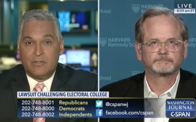 C-SPAN: Lawrence Lessig on Legal Challenges to the Electoral College