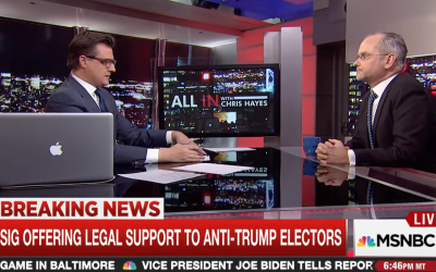 MSNBC: GOP Elector Says He Won't Vote For Donald Trump