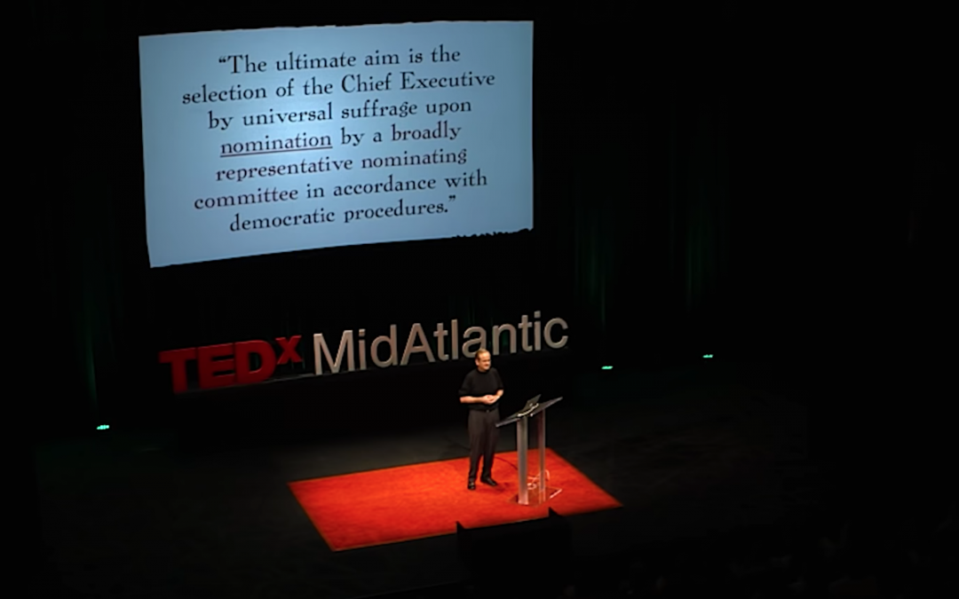 TEDxMidAtlantic: Our democracy no longer represents the people. Here's how we fix it.