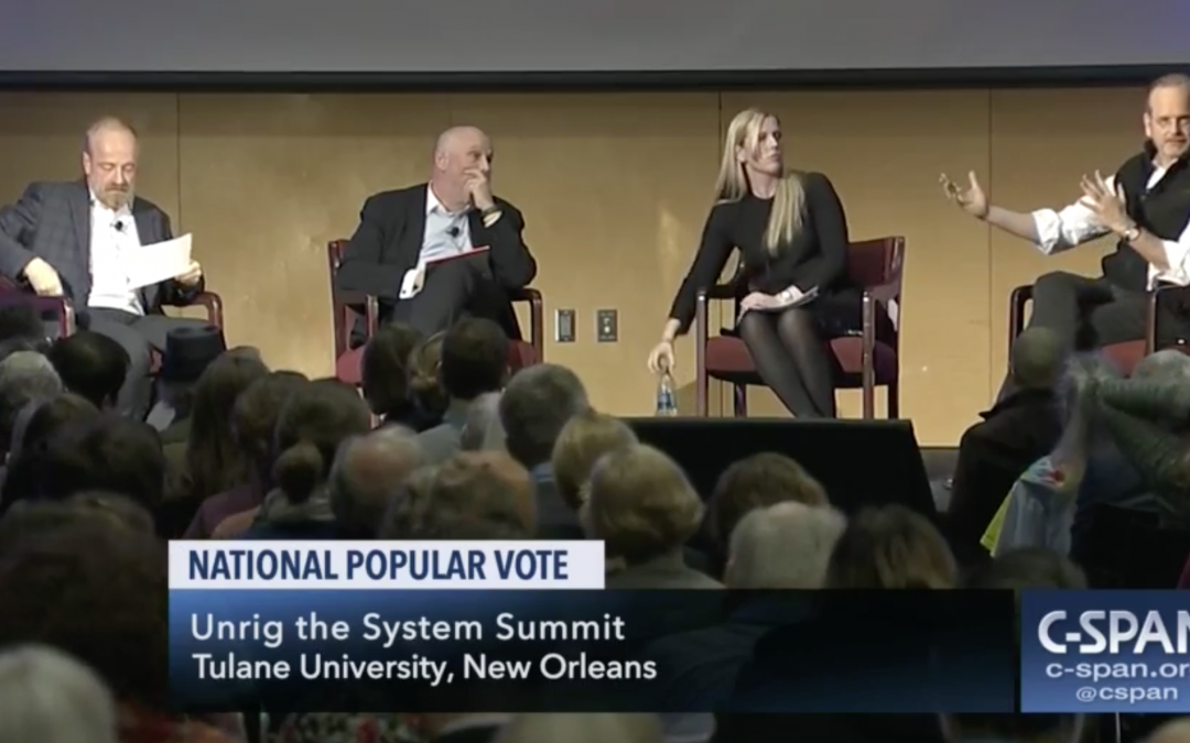 C-Span: Unrig the System Summit, National Popular Vote