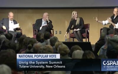 C-Span: Unrig the System Summit, National Popular Vote