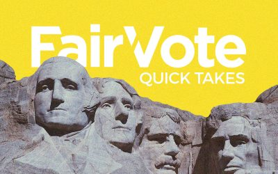 FairVote: Ranked Choice Voting: A solution to crowded 2020 primary