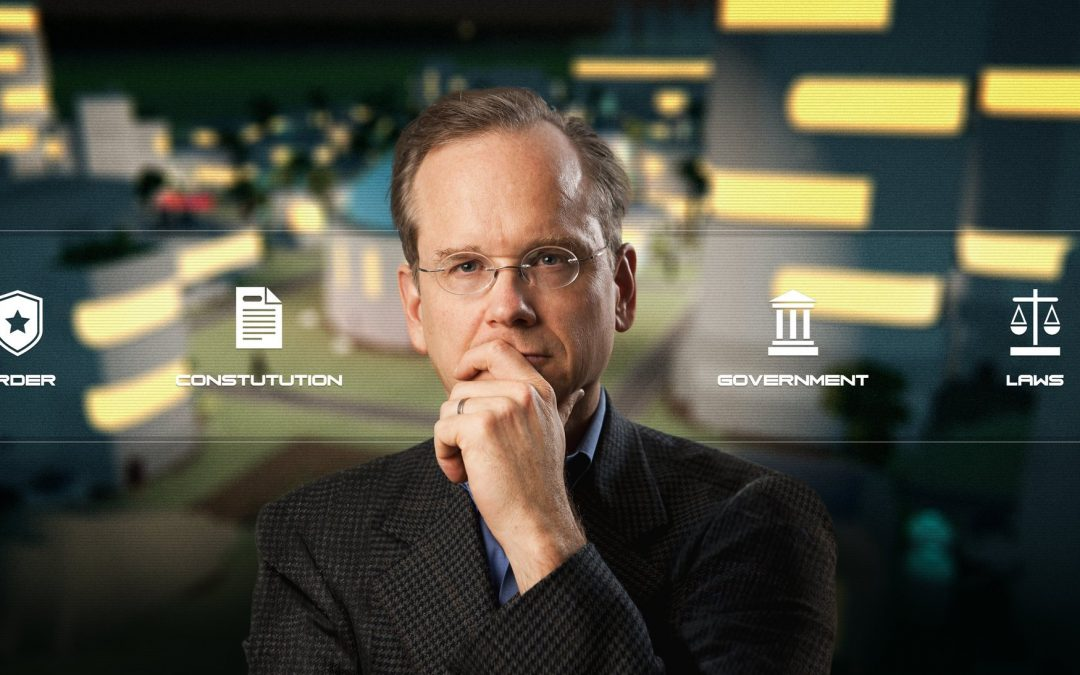 Boing Boing: Lawrence Lessig on designing a corruption-resistant democracy for a virtual world