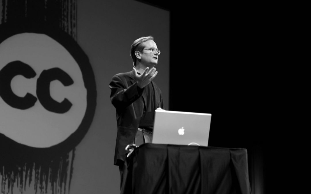 The Lamron: Legal scholar Lawrence Lessig gives lecture urging open access to scholarly works