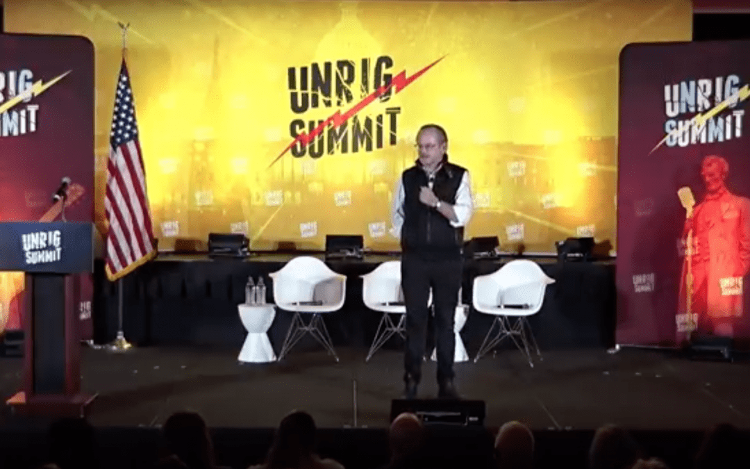 Lessig at Unrig The System 2019