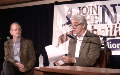An Evening with Sam Waterston and Lawrence Lessig
