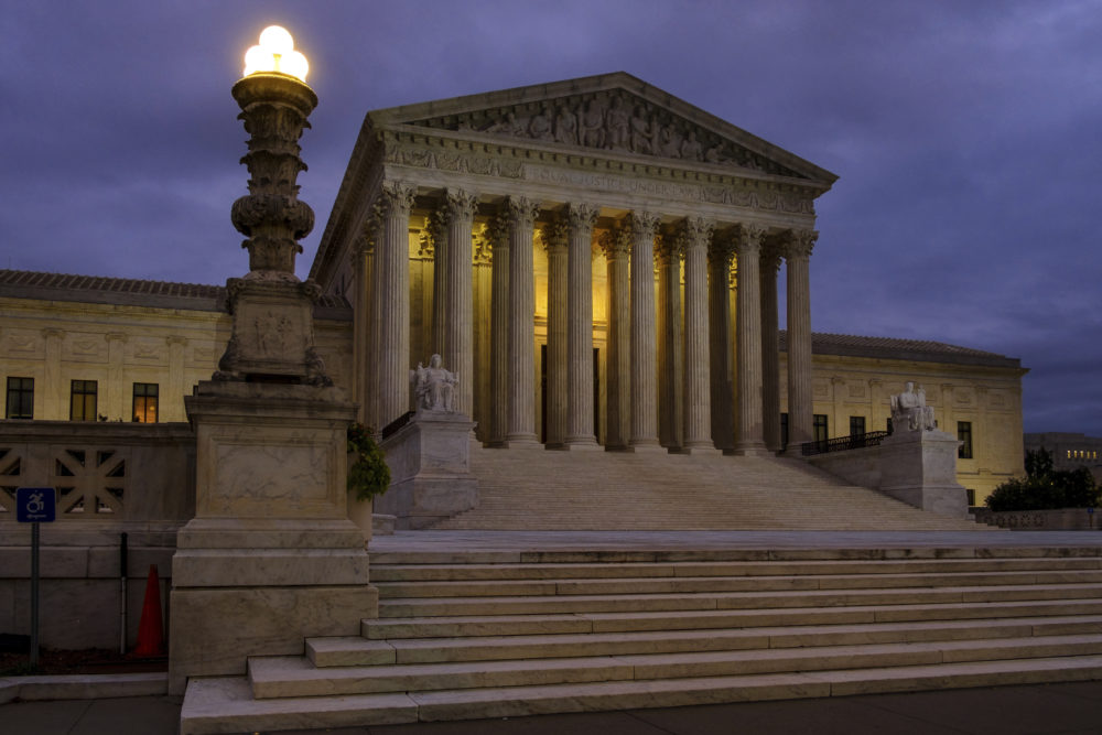WBUR: What The Supreme Court's History Can Tell Us About Its Future