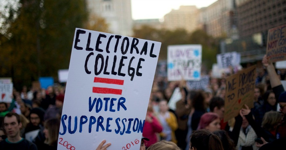 Common Dreams: Electoral College Abolitionists Say Court Ruling Shows Why Current System 'Terrible Way of Picking the President'