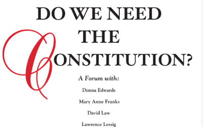 Harpers: Constitution in Crisis Has America's founding document become the nation's undoing?