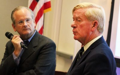 Nashua Telegraph: GOP primary hopeful Bill Weld talks gerrymandering, electoral college, voter suppression at town hall