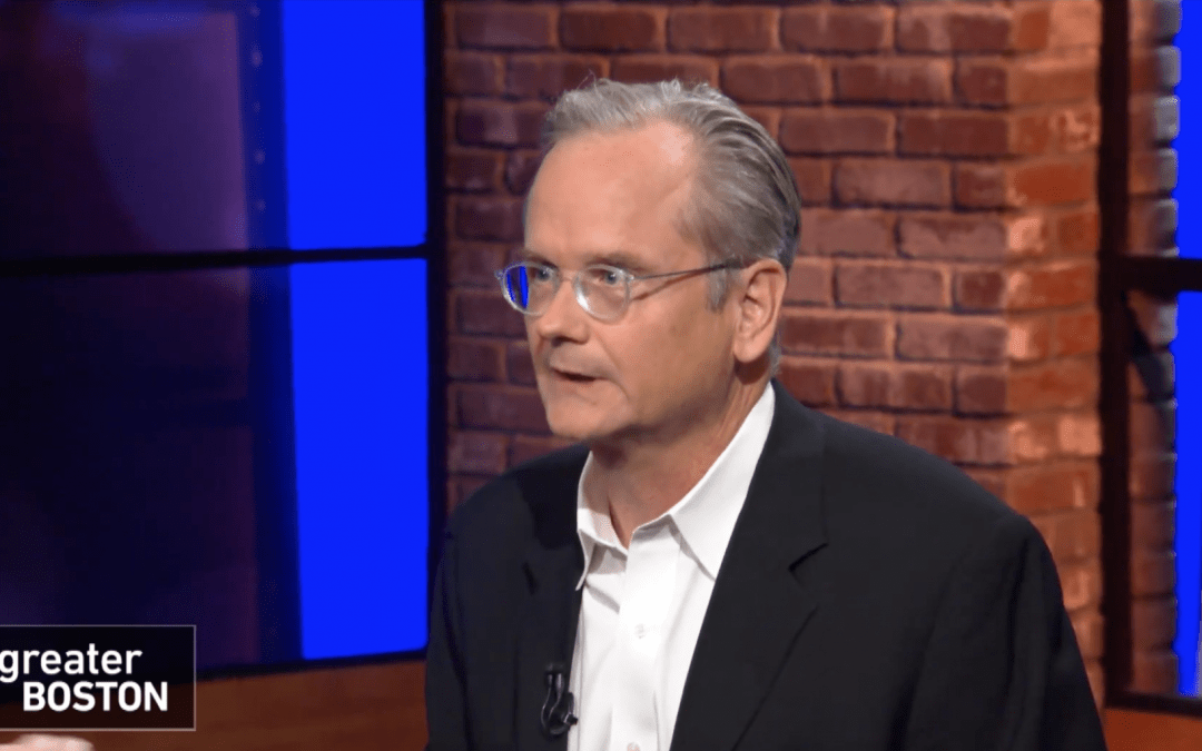 WGBH: Lawrence Lessig On Why 'They Don't Represent Us'