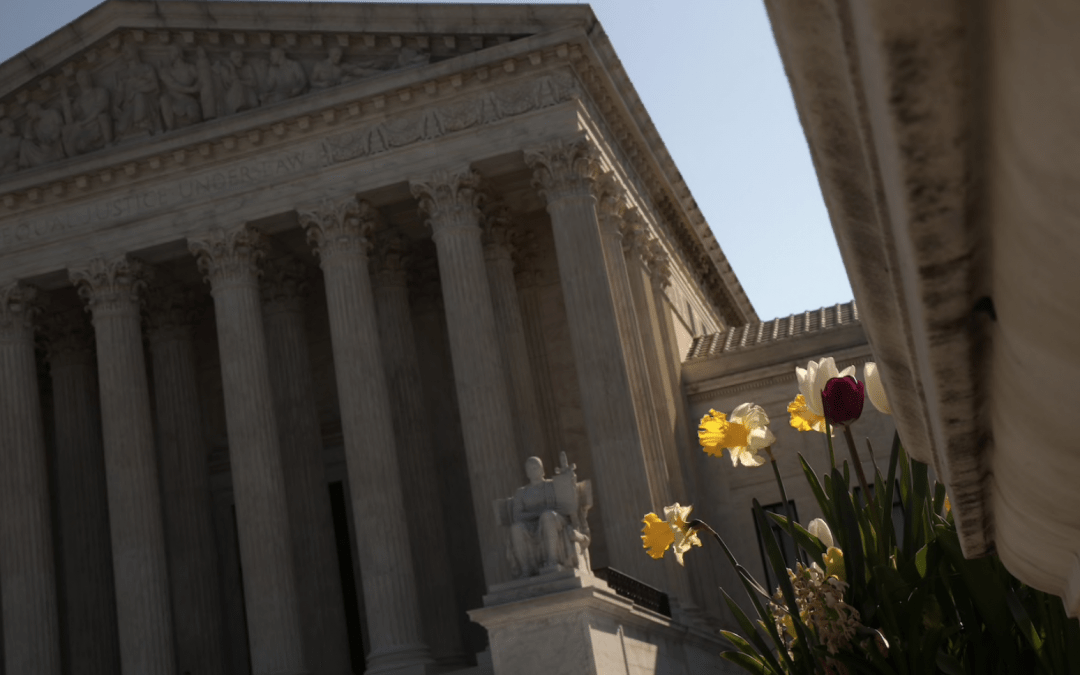 Washington Post: Supreme Court for first time to hold arguments via teleconference next month