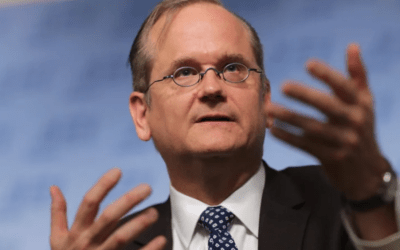 The Fulcrum: Lawrence Lessig's group shifts focus to people, not politicians